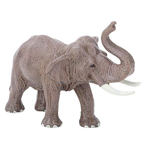 Juguete de Modelo Animal, Mini 3D Suave Realista Estatua de Elefante Decoración de habitación Juguetes de Educativo Regalo de cumpleaños de Navidad para niños(#2)