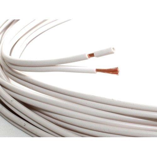 QED(キューイーディー) Profile79Strand (1メートル単位 切り売りスピーカーケーブル) (白(ホワイト))