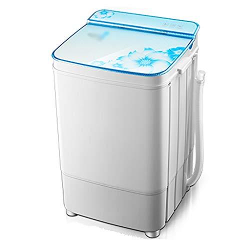 Tragbare waschmaschine und trockner Versteckten Knopfschalter Waschmaschine, die Elution integrierten Single Barrel Single Barrel Haushalt große Kapazität halbautomatische Waschmaschine, energiesparen