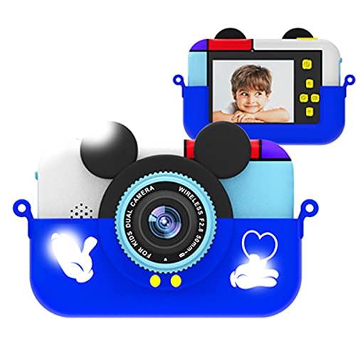 Digitale camera's voor kinderen 1080P 2,4 inch peutervideocamcorder Peuter selfie video-opnamecamera met 32GB-kaart…
