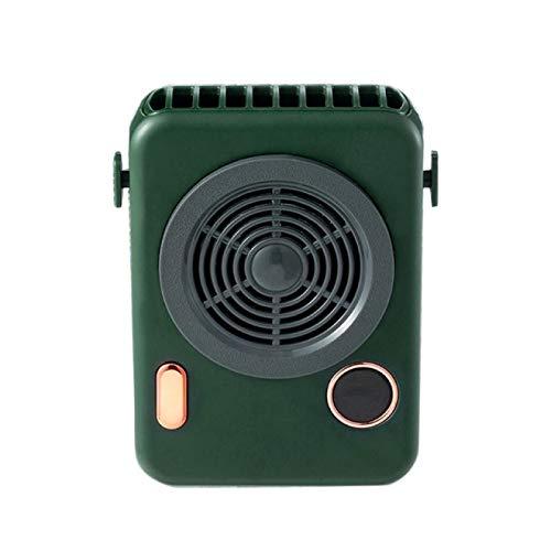 Lsdnlx Ventilador,Ventilador portátil USB Ventilador de Cuello inalámbrico para Colgar Enfriador de Aire Compacto y Conveniente A6HE | Gadgets USB