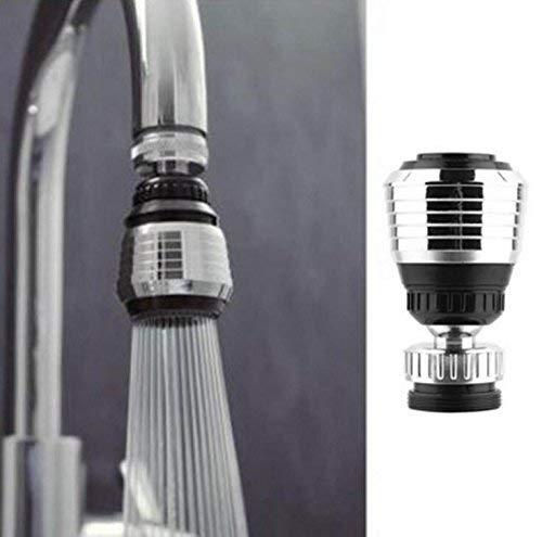 Difusor de grifo giratorio de 360 grados, ahorro de agua, para accesorios de cocina, duradero y práctico
