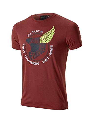 Altura Icarus T-Shirt à Manches Courtes pour Homme XXL Bordeaux