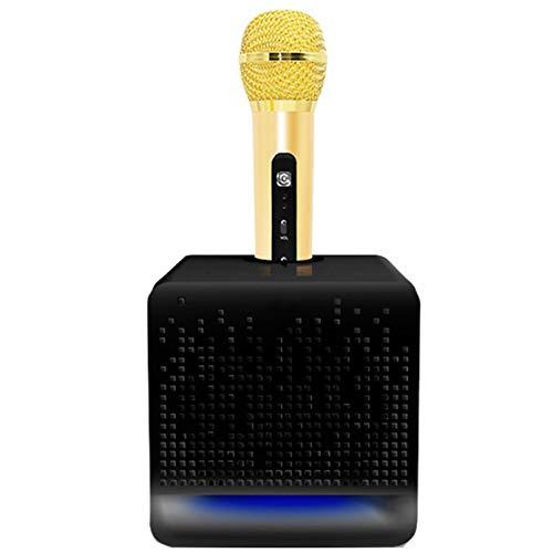 Micrófono Portátil, Altavoz Bluetooth, Altavoz De Karaoke Al Aire Libre, Admite La Eliminación De Canto Original Con Una Tecla, Efectos De Sonido Impactantes, Puede Cantar En Cualquier Momento