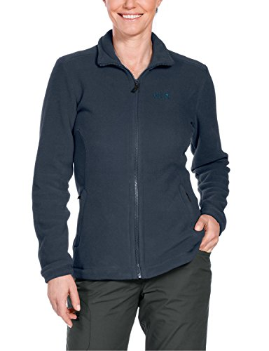 Jack Wolfskin Damen Fleece Jacke Midnight Moon Fleecejacke, Night Blue, M