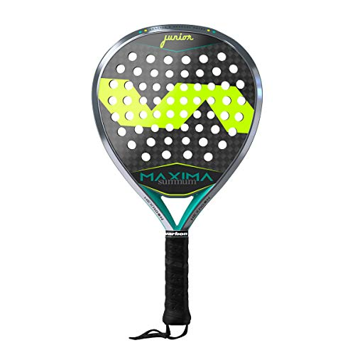Pala de pádel VARLION Maxima Summum Junior, Peso 300-310 gr, Amarillo
