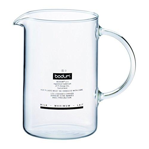 Bodum Spare Beaker Bicchiere di Ricambio per Montalatte 1966, 1446, Trasparente, 01-1966-10-302