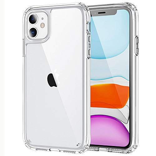 IYUPP iPhone 12/12 Pro Bumper Case Transparent - Mobile Phone Case Shockproof TPU Material - Exact Fit Protective Case - Transparent