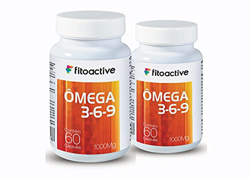 Kit 2 Ômega 3-6-9 1000 mg 60 Cápsulas Fitoactive