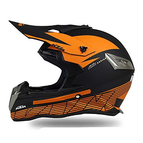 Casco De Seguridad Para Bicicleta De Montaña,DOT/ECE casco De Motocross,capacetes Motocross Buena Ventilación,Cruiser Chopper Moped transpirable,Hombres mujeres jóvenes A,S (55~56CM)