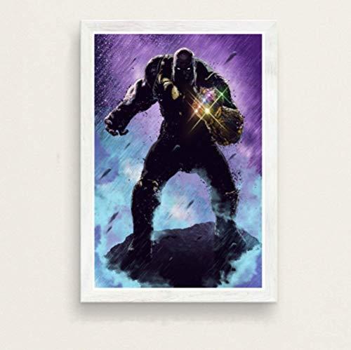 Pintura Sobre Lienzo The Avengers Deadpool Iron Man Capitán