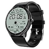 Dswe Q21 Smart Watch Monitoraggio della Temperatura corporea Monitoraggio della frequenza cardiaca Braccialetto Fitness Tracker Wireless per la Pressione sanguigna Smart Watch