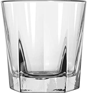 Double Old Fashioned Rocks Whiskey Scotch Glasses 12 Oz -Set of 4-heavy Base Elegant Barware