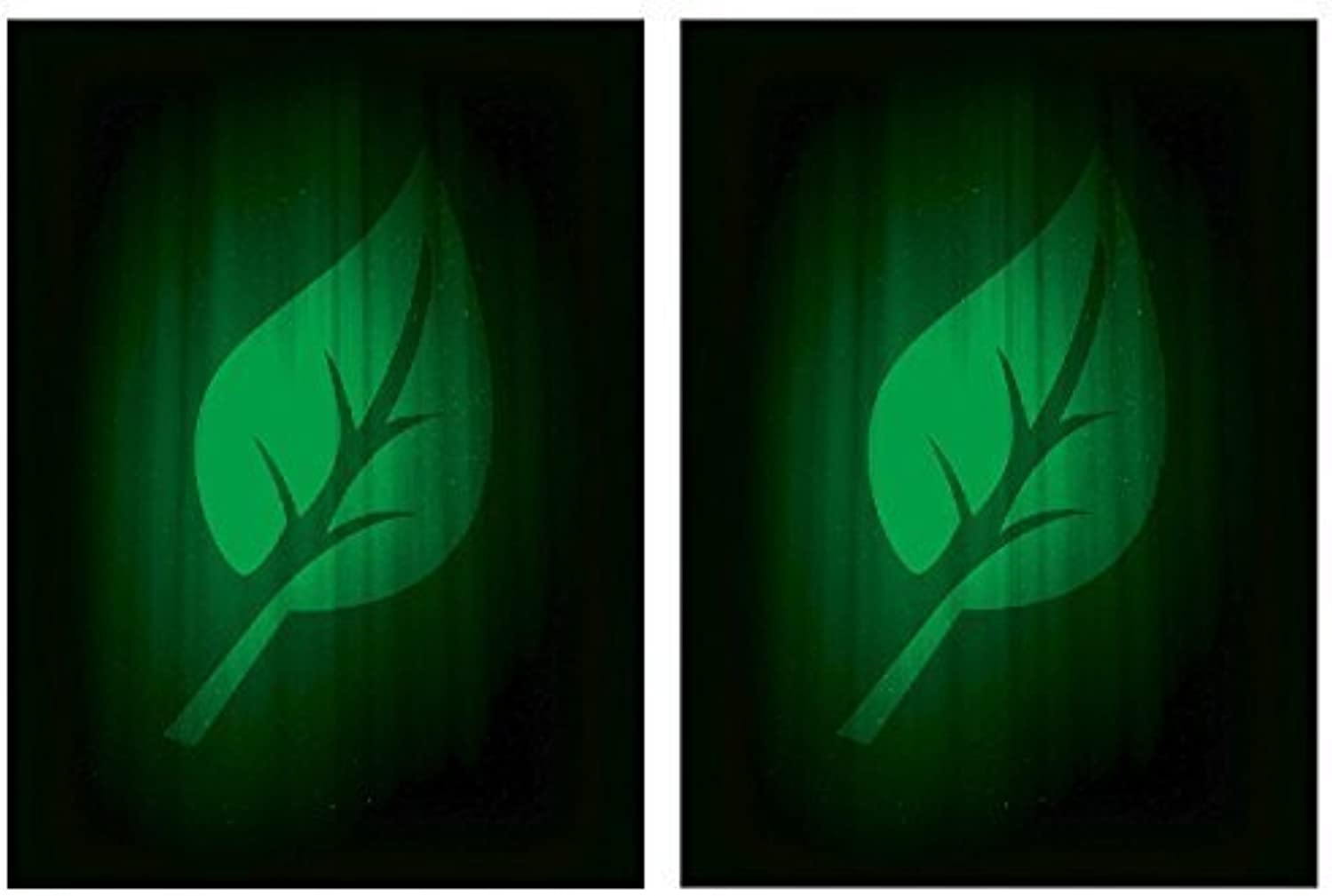 Legion SUPER Iconic LIFE 100 DOUBLE Matte Finish Grün LEAF Sleeves (fits Magic   MTG, Pokemon Cards) by Legion