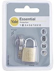 Yale Essential 20mm Pirinç Asma Kilit