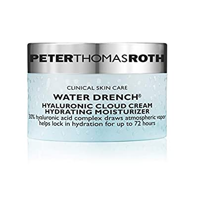 Peter Thomas Roth Water Drench Hyaluronic Cloud Cream Hydrating Moisturizer, Hyaluronic Acid for Face, Up to 72 Hours of Hydration for More Youthful-Looking Skin