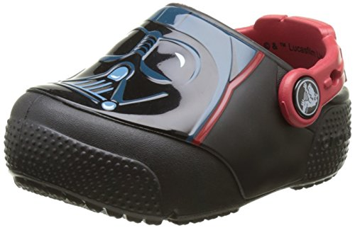Crocs Fun Lab Lights Darth Vader, Jungen Clogs, Schwarz (Black), 25/26 EU