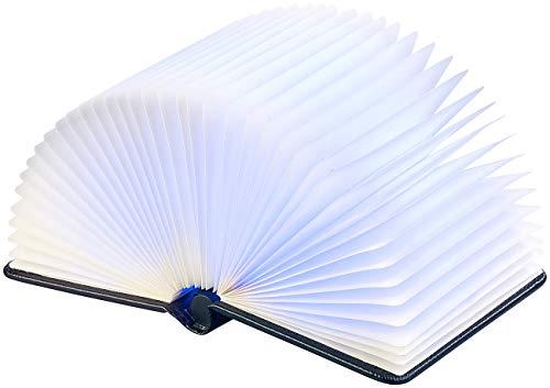 Lunartec Buchlampe: Klappbare LED-Stimmungsleuchte im Buch-Design, 5 Farben, 0,2 Watt (Buchleuchte) - 5