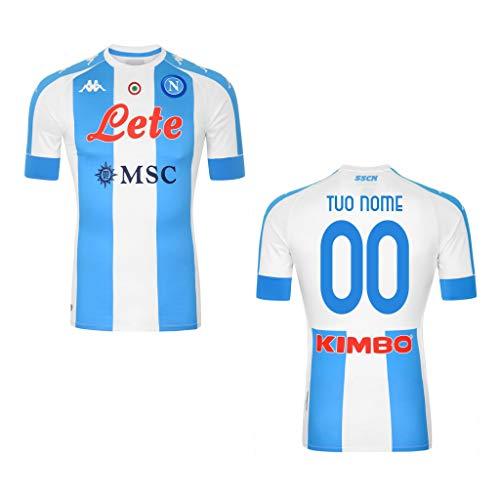 Maglia Gara Bianco Azzurra Maradona 10' El PIBE DE Oro TUONOME (PERSONALIZZATA PERSONALIZZABILE) S.S.C. Napoli 2020/2021 Argentina CELEBRATIVA Limited Edition VESTIBILITA' EXTRA SLIM