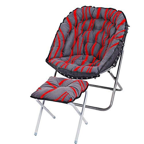 AiHerb.LO JL HX Balcon Salon Petit Canapé Chaise Longue Paresseux Canapé Chaise Canapé Simple Chaise Pliante pour Alimentation A+ (Couleur : C)