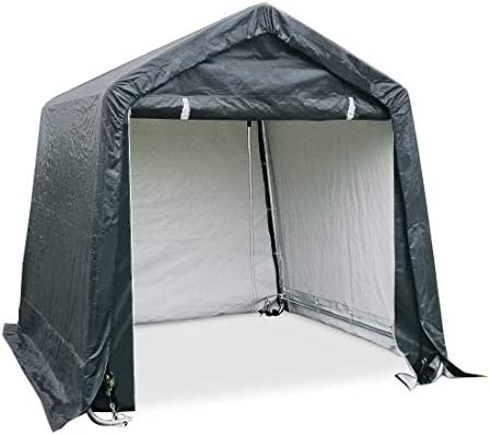 Quictent Storage Shelter 6 x 6 Feet Outdoor Carport Shed Heavy Duty Car Canopy Grey product image