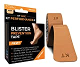 KT Tape Blister Prevention Tape, Precut 3.5 Inch Strips, Beige