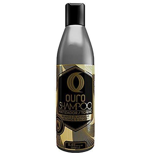 Shampoo Cabello Platinado marca Ouro The Golden Touch