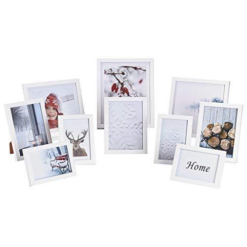 Nielsen Design 10 Bilderrahmen aus Kunststoff, weiß, Referenz: 8999175