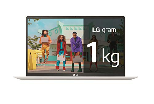 "LG gram 15Z90N-V-AR53B - Ordenador portátil ultraligero de 15.6"" FullHD IPS (Intel Core i5-1035G7, 8GB RAM, 256GB SSD, Windows 10 Home) Blanco - Teclado QWERTY Español"