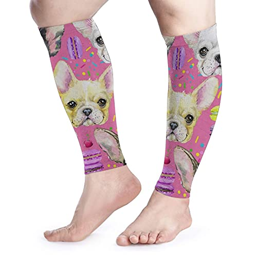 Animal Dog French Bulldog Sports Kneepad Sport Compression Knee Pad Sleeve For Running, Basketball, Weightlifting, Gym, Workout