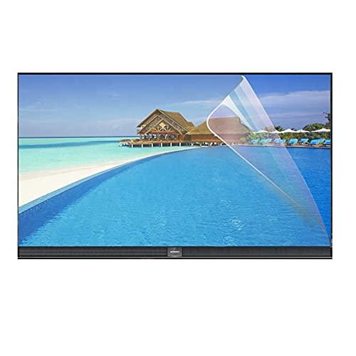 GFSD Luz Azul Anti Protector de Pantalla de TV 27-75 Pulgadas, Anti Reflejante Aliviar La Fatiga Ocular Ultra Claro for LCD, LED, OLED Y QLED 4K HDTV