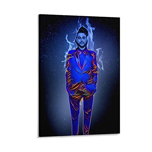 The W.e.e.k.n.d XO Starboy Poster Stampa The Weekend Trilogy Rap Rock Hip Hop DJ (5) Stampa artistica su tela e stampa artistica da parete Modern Family camera da letto Decor poster 20 × 30 cm