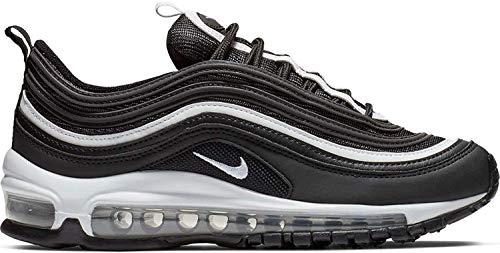 Nike Jungen Air Max 97 (gs) Leichtathletikschuhe, Mehrfarbig (Black/White/Metallic Silver 009), 36 EU
