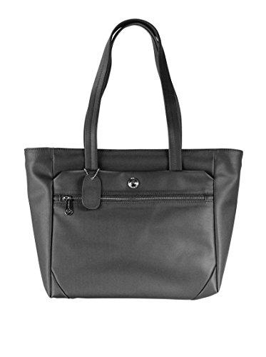 Samsonite 50781 - Borsa a tracolla Park Ii Shopping Bag M, 0,01 Litri, colore: Nero