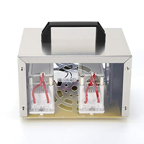 Fetcoi Purificador de aire, dispositivo de ozono Air Purifier, generador de ozono, tratamiento de ozono, filtrado de aire para la desinfección de casas, coches, talleres