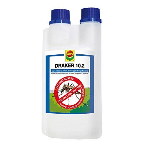 Draker 10.2:Insecticida de efecto demoledor y residual; viene en contenedor de 1litro