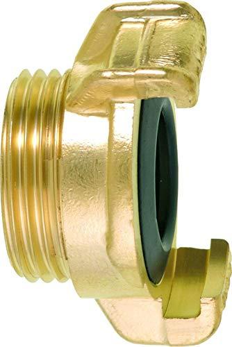 GEKA 40113ASB Gewindestück 2113 G 1 Zoll MS, Gold, 18 x 8 x 13 cm