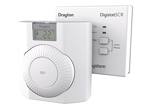 Drayton RF601 Thermostat, White