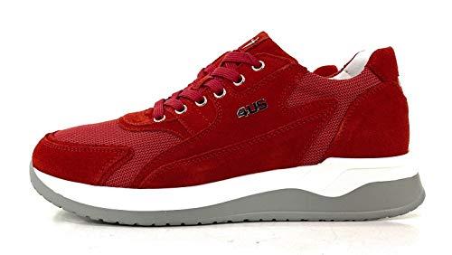 Cesare Paciotti 4US Herren-Sneaker, Rot - rot - Größe: 44 EU Larga