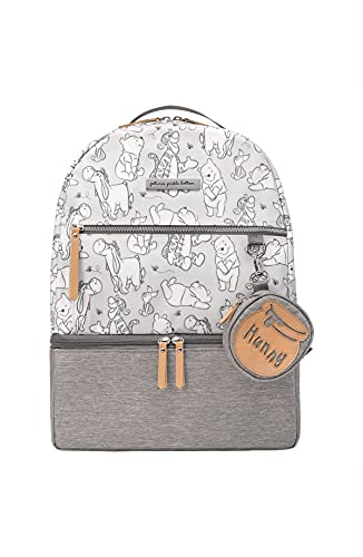 Petunia Pickle Bottom Axis Backpack   Baby Bag   Diaper Bag Backpack   Baby Bottle Bag for Parents   Stylish Baby Bag Organizer  Sophisticated & Spacious Backpack for On The Go   Disney's Playful Pooh