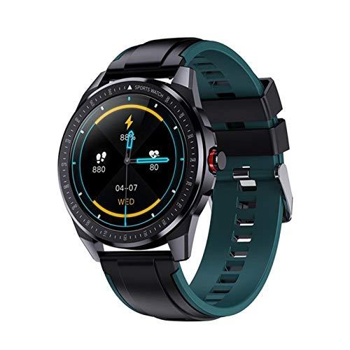 Nuevo GPS Smart Watch SN88 Reloj Deportivo Bluetooth para Hombres IP68 Rastro cardíaco Fitness Tracker DIY UI 60 días de Espera Android iOS,E