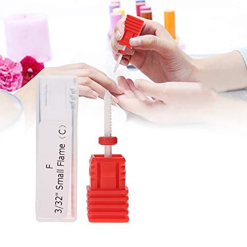 Broca para uñas, accesorios de la máquina de manicura eléctrica broca para...