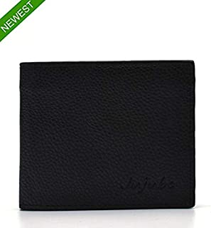 Men's Wallet, Ultra Slim Bifold Leather Wallet with Money Clip Protection Currency Pockets for ID Card, Credit Card, Busin...
