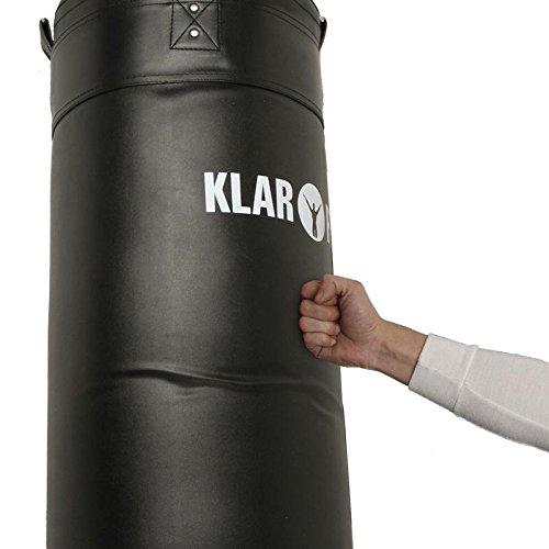 Klarfit Klimmzugstange-Boxsack-Kombination Klimmzug mit  Reckstange  Abbildung 3
