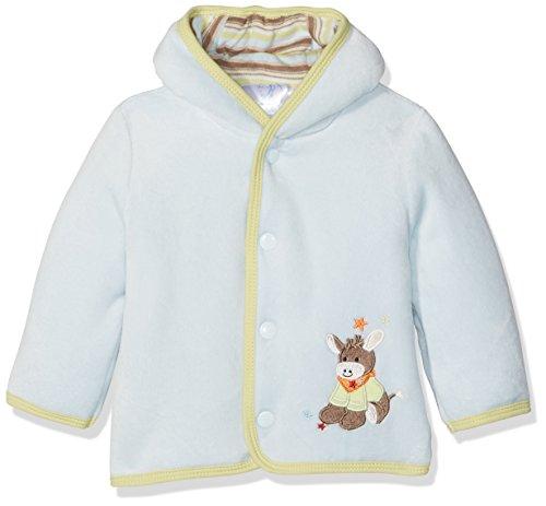 Sterntaler Veste à capuche Nicki Emmi pour bébés, Âge: 0-2 Mois, Taille: 50, Bleu