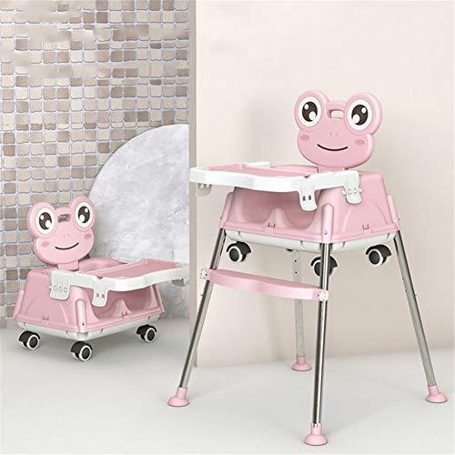 Nieuwe Model Hoge Kinderstoel Baby Kinderstoelen Kinderstoelen PP RVS Opvouwbare Verstelbare 6 Maanden tot 4 Jaar Oude 54X52X95cm