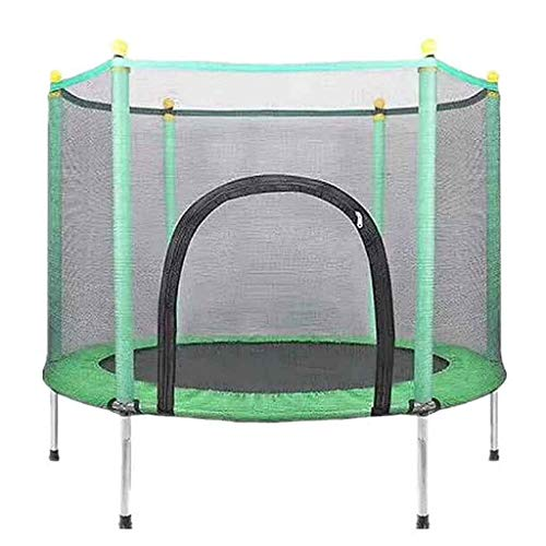 Game fence Trampoline Domestic Spotrs with Safety Enclosure Net Handle Mini Trampolines for Kids