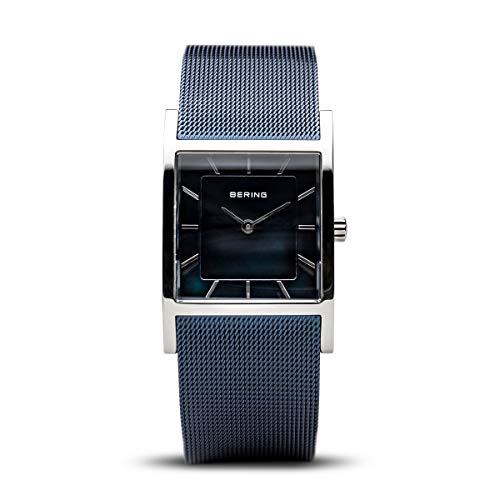 BERING Damen-Armbanduhr Analog Quarz Edelstahl 10426-307-S