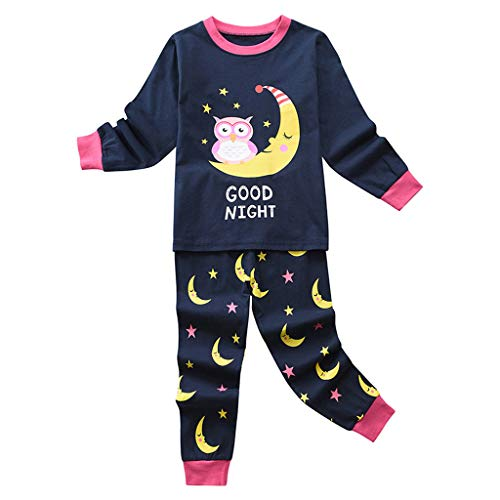 Purchase Toddler Kids Cartoon Pajamas, Baby Boys Long Sleeve t-Shirt Tops Soft Casual Pants Cotton H...