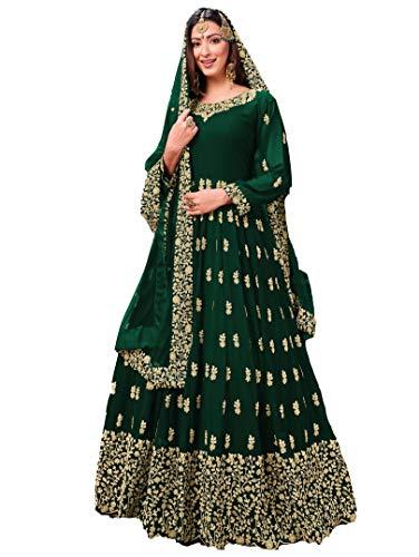 San Valentín especial exclusivo indio mujeres tradicional semi cosido traje Salwar s01